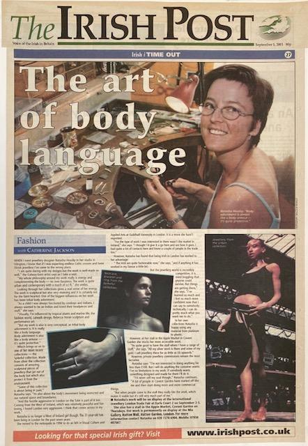 2001 The irish post 2 The Art of Body Language