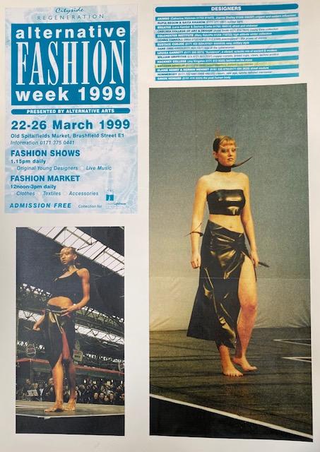1999 Alternative London Fashion week catwalk show