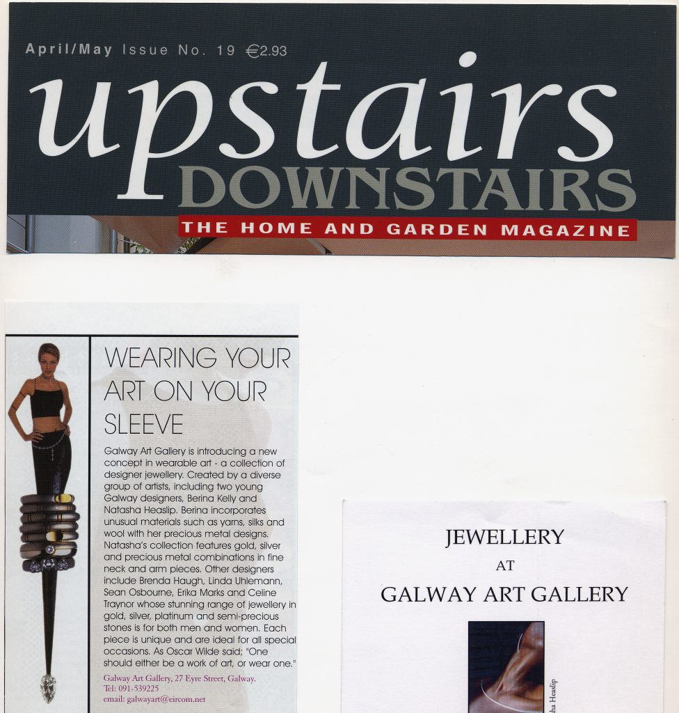 2002 Upstairs Downstairs Magazine April-May