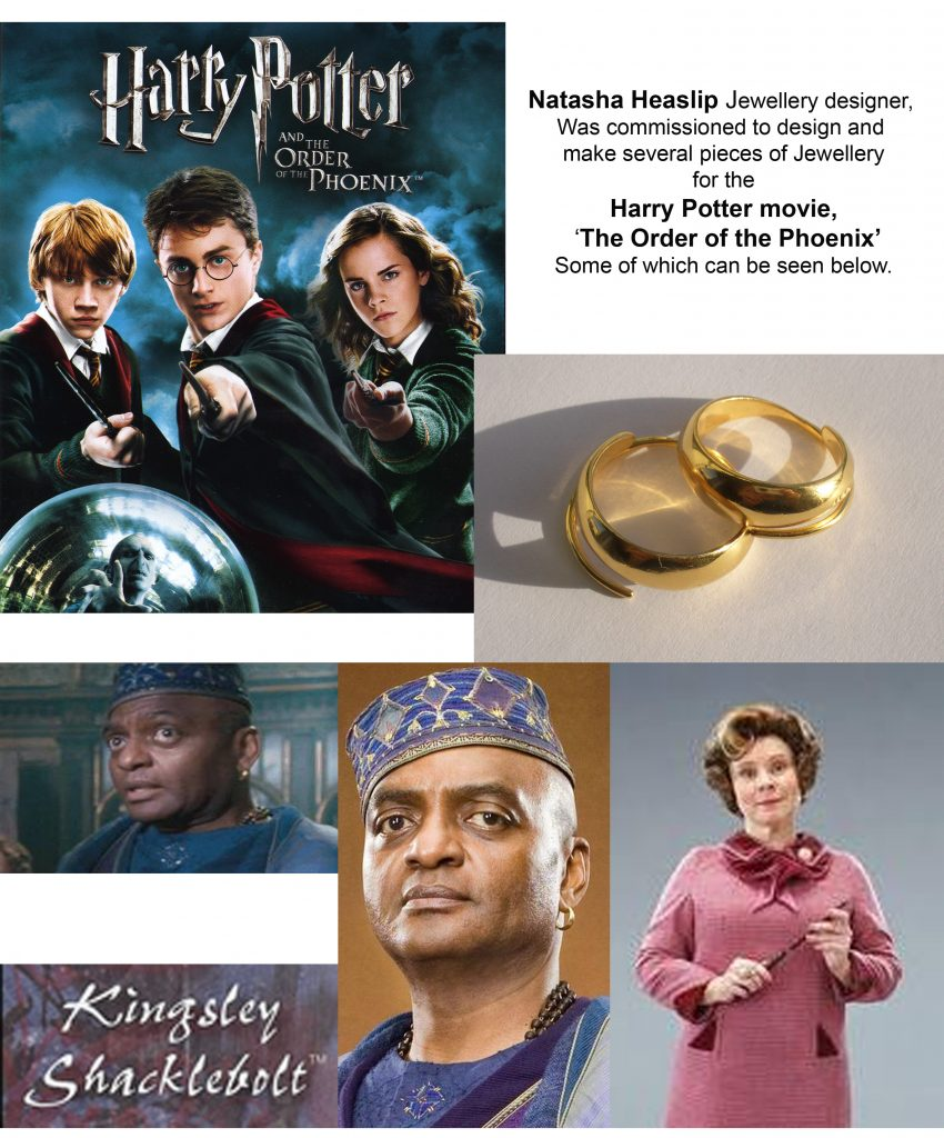 2007 Harry potter, commissioned jewellery