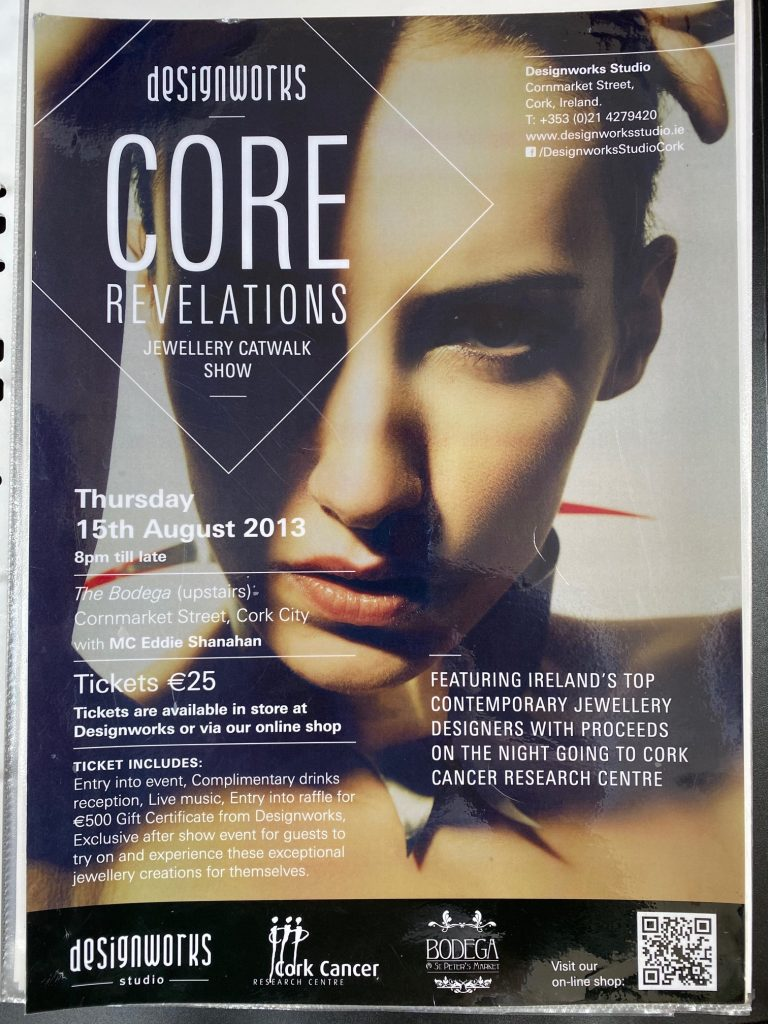 2013 Core revelations cat walkshow, necklace on poster image