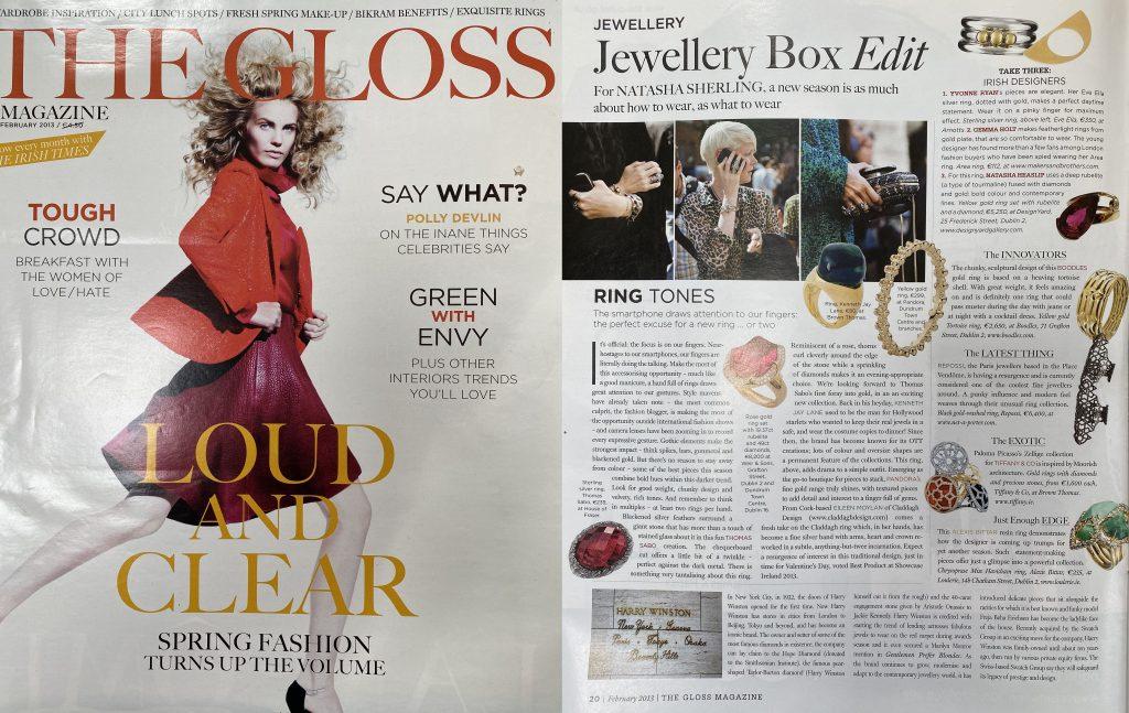 2013 Gloss Magazine Jewellery Box