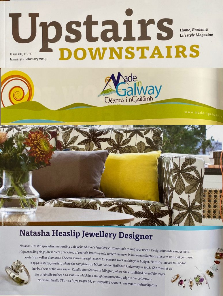 2013 Upstairs Downstairs, Made in Galway Article