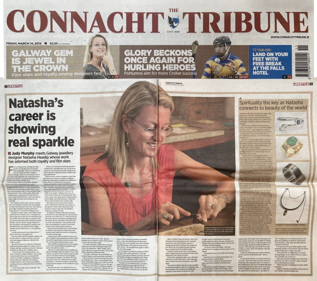 2014 Connacht Tribune T2 article 2pg spread