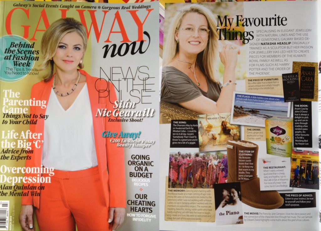 2014 Galway now, Article 'My favourtite things'