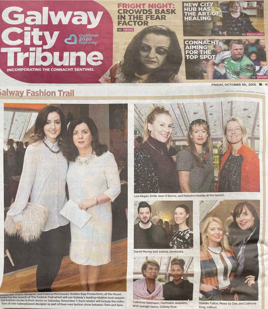 2016 Fashion Trail City Tribune Galway