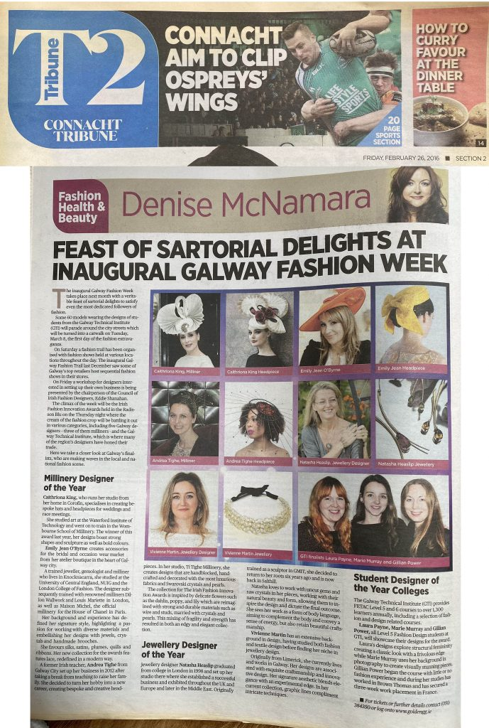 2016 Galway Fashion Week