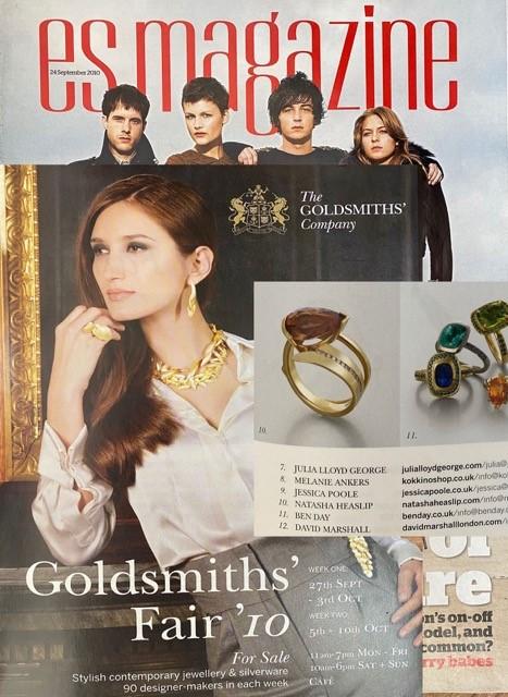 Natasha Heaslip Article in ES Magazine