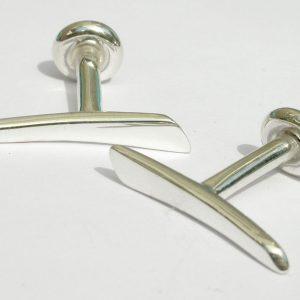 Spikeful cufflinks silver