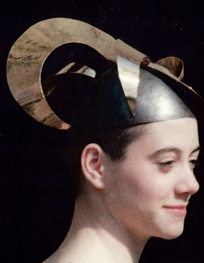 Vice Versa exhibition, head piece in National museum collection