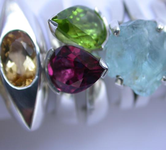 3 gem stones