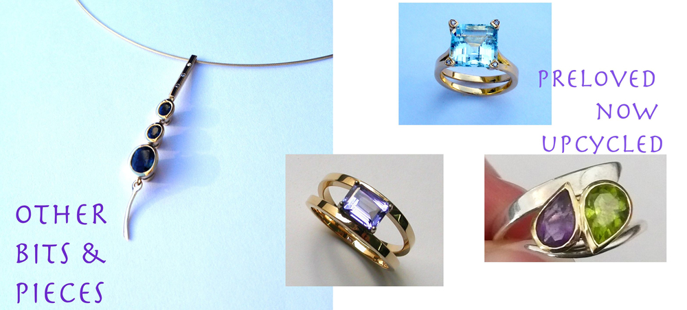 Old to new mix of rings and pendants remodelled